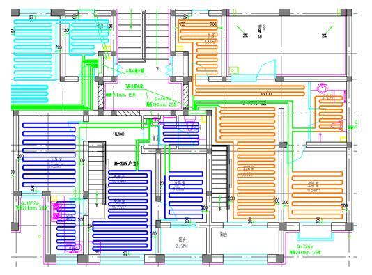 天正建筑、给排水、电气、软件暖通2014版正长小房子设计图图片